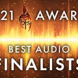 2021 British Fantasy Awards Best Audio Finalists PseudoPod and PodCastle